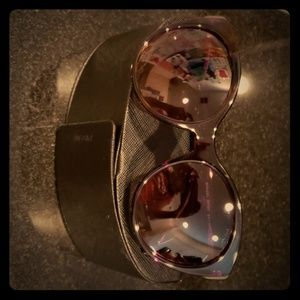 Prada cat eye sunglassea